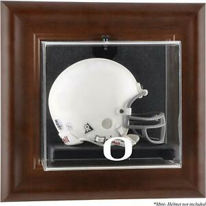 Ducks-Brown-Framed-Wall-Mountable-Mini-Helmet-Display-Case-Fanatics