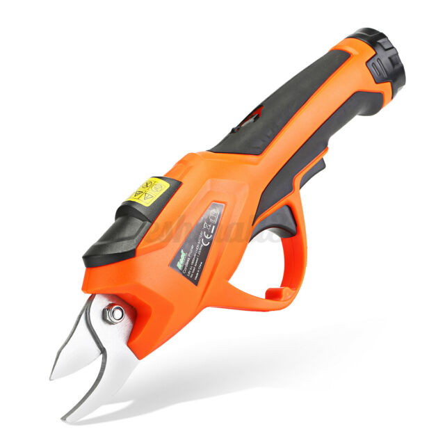 Battery 3.6V Electric Cordless Pruning Shears Secateur Branch Cutter Garden Tool