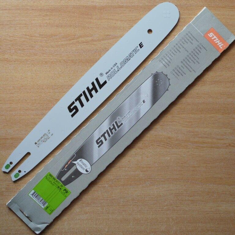 Genuine STIHL Motosierra Barra Guía de 18  45cm MS250 025 325  3005 008 4717 seguimiento