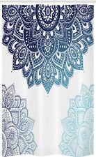 Oriental Ornament Mandala Schmaler Duschvorhang