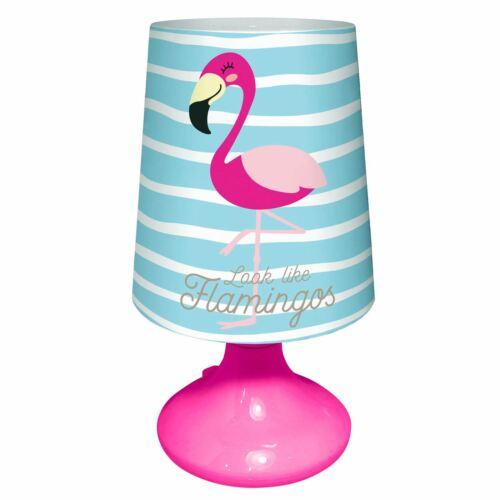 FLAMINGOS DESK TABLE LAMP GIRLS NIGHT LIGHT LED