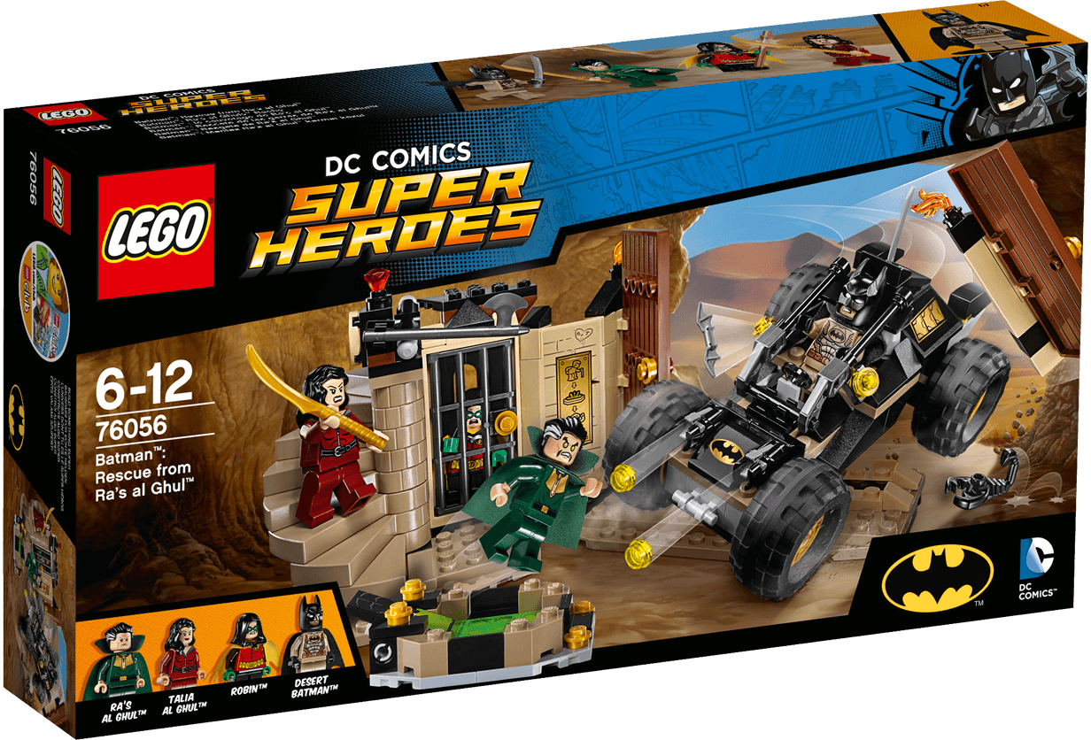 LEGO - SUPER HEROES - 76056 - RESCUE FROM RA'S AL GHUL
