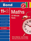 Bond 10 Minute Tests Maths 8-9 Years by Sarah Lindsay (Paperback, 2009)