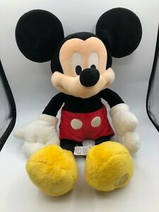 Walt-Disney-Store-Mickey-Mouse-Plush-Kids-Soft-Stuffed-Toy-Animal-Doll-Stamped