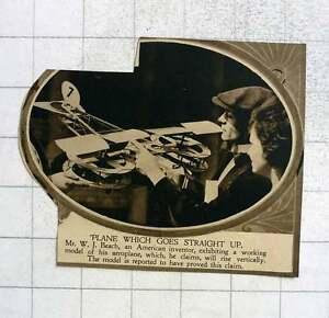 1919-American-Inventor-Wj-Beach-Vertical-Takeoff-Aircraft