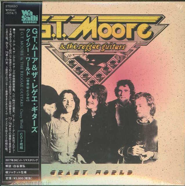 G.T. MOORE & THE REGGAE GUITARS-CRAZY WORLD-JAPAN 2 MINI LP CD G88