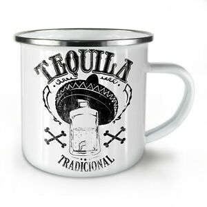 Tequila Traditional NEW Enamel Tea Mug 10 oz   Wellcoda