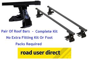 Click For Fitments Chrysler PT Cruiser Roof Bars Complete Kit 109