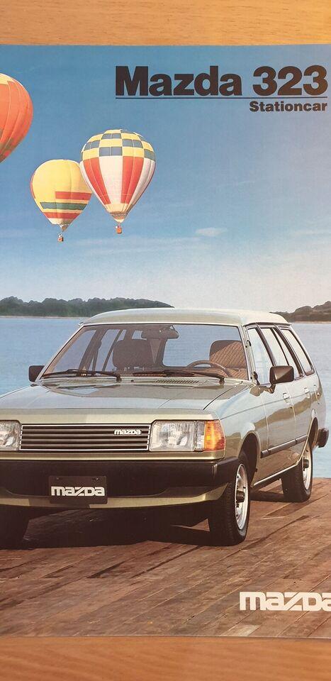 Brochure, Mazda 323