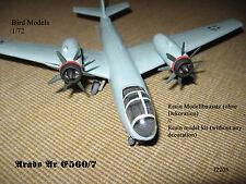 Arado Ar E 560/7  Mittelstreckenbomber 1/72 Bird Models Resinbausatz / resin kit