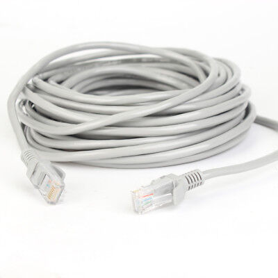 2X 50FT CAT5 CAT5E RJ-45 ETHERNET NETWORK PATCH CABLE WHITE HIGH SPEED INTERNET