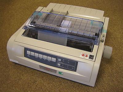 Computer, Tablets & Netzwerk Gehorsam Oki Microline 5520 B/w 9 Pin Dot Matrix Impact Printer Usb Network Brand New Neu FöRderung Der Produktion Von KöRperflüSsigkeit Und Speichel Drucker