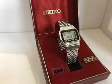Seiko A547-500B Quartz LCD LED Watch