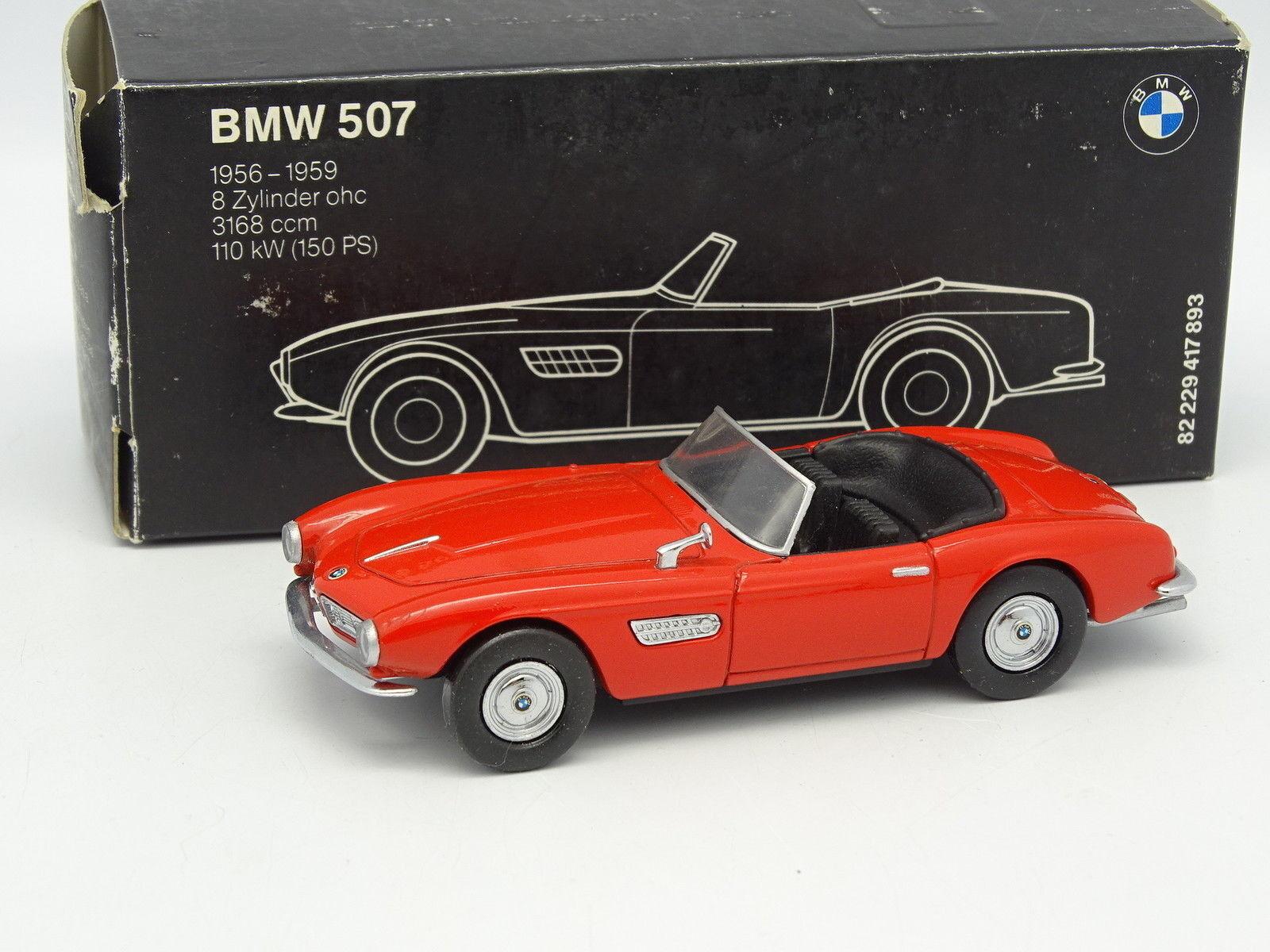 Schuco 1 43 - BMW 507 Rouge