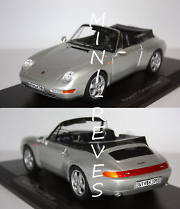 Norev-Porsche-911-Carrera-Cabriolet-1993-Silver-1-18-187592-8