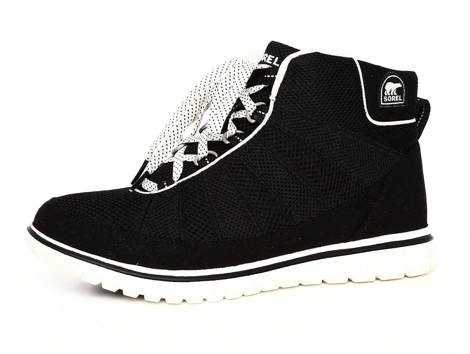 Sorel Tivoli Women's Black Go High Sneaker Sz 9.5 3436*