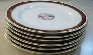 SET-OF-6-NITTO-DYNASTY-R-73-DINNER-PLATES-10-3-4-inch-PERFECT-COND