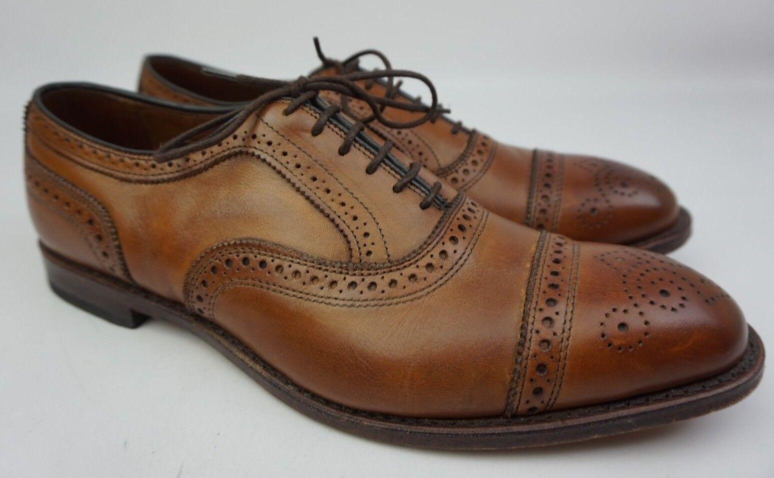 Allen Edmonds Strand Cap Toe Oxford braun Leather schuhe Größe Größe Größe 11 D 8c261a