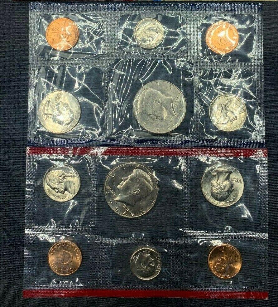 US Mint Sets Estate Sale Lot Envelopes US Coins Different Proof Sets 1970-1999