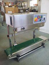 220v Industrial Version Usa Stocked Fr 900v Vertical Stainless Steel Band Sealer