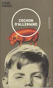 Livre-cochon-d-039-allemand-Knud-Romer-book