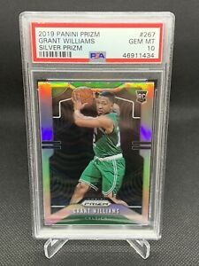 2019-Panini-Silver-Prizm-Grant-Williams-PSA-10-Low-Pop