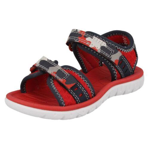 CLARKS Surfing Coast Boys Textile Sandals