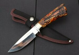 TOP QUALITY UTILITY SHARP BOWIE HUNTING JUNGLE SURVIVAL RESCUE BOWIE FIXED KNIFE