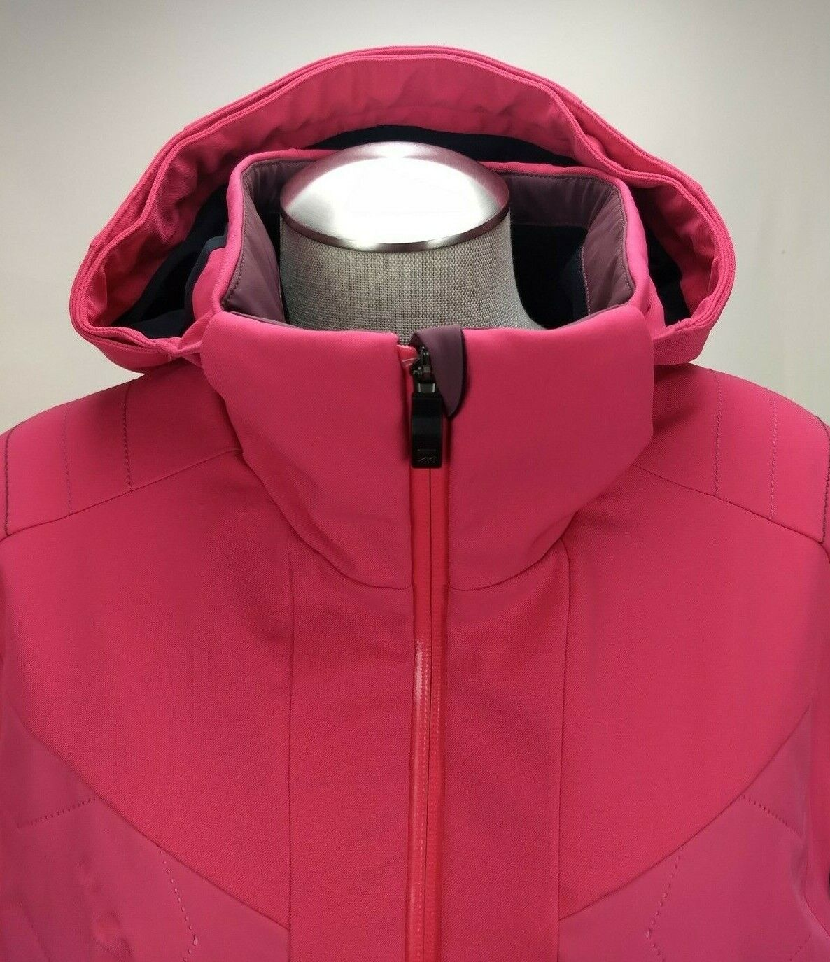 bc058d279 Mountain Force Womens Ski Snowboard Jacket XL 42 Hooded Full Zip Insulated  Coat