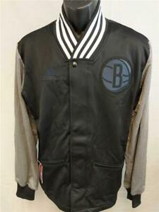 New Brooklyn Nets Mens L-XL-2XL-3XL-4XL +2 Adidas On Court FSTR BNE Jacket