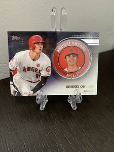 Shohei Ohtani 2020 Topps Series 2 Commemorative Medallion Player Coin - Angels