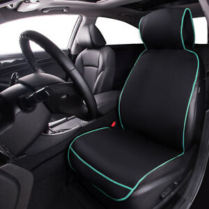 Universal-Car-Seat-Cushion-Cover-Pad-Breathable-Mint-Green-Black-for-SUV-Sedan