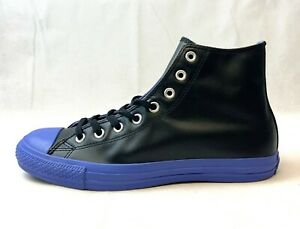 zapatillas converse hombres cuero negro