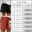 Women Summer Elastic Waisted Ruffled Hot Pants Baggy Beach Casual Shorts Boho