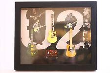 RGM8822 Bono U2 Miniature Guitars in Shadowbox Frame