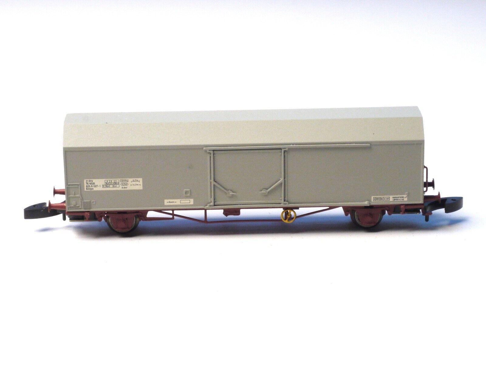 Z-scale All METAL Norwegian NSB FR 47.812 Insulated Box car Freudenreich