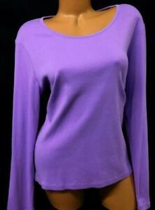 White-stag-purple-long-sleeve-women-039-s-plus-size-top-XXL-20