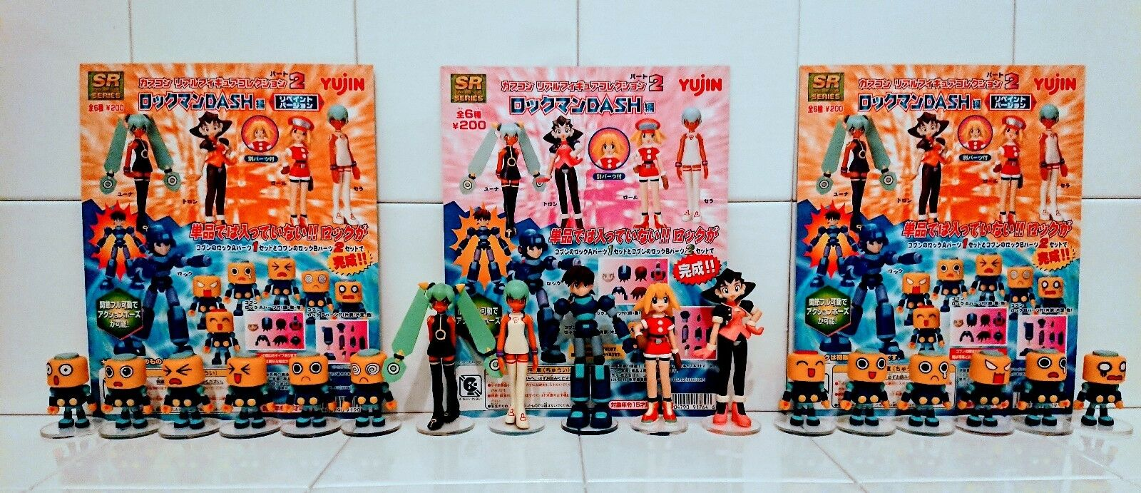 Kobun Servbot full set, Mega Man Legends, the adventures of tron bonne