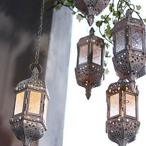 Moroccan-Hallow-Hanging-Lantern-Tea-Light-Candle-Holder-Home-Wedding-Decor
