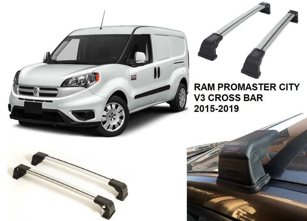 Fix Point Roof Rack Cross Bar Cross Rail For Ram Promaster