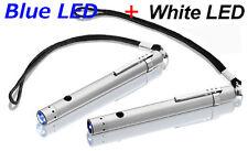 2x Zweibrüder LED LENSER V12 7632 + 7633 Taschenlampe inkl. Nylontasche