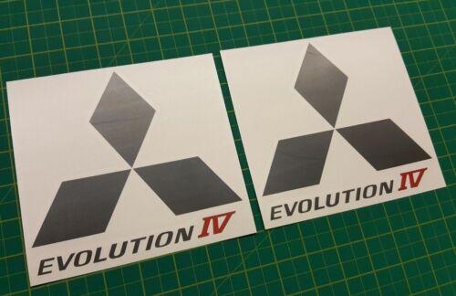Mitsubishi Evo Lancer Evolution 6 side Spoiler decals stickers graphics JDM GSR