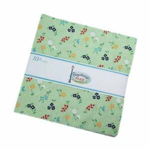 Amy-Smart-Sugarhouse-Park-5-034-Charm-Pack-Fabric-Quilt-Squares-5-8890-42-SQ13