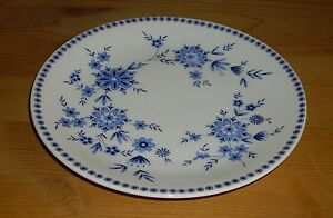 Seltmann-Weiden-Bayerisch-Blau-1-Kuchenteller-Brotteller