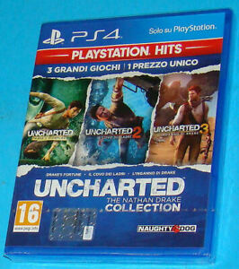 Uncharted-The-Nathan-Drake-Collection-Sony-PS4-PAL-New-Nuovo-Sealed
