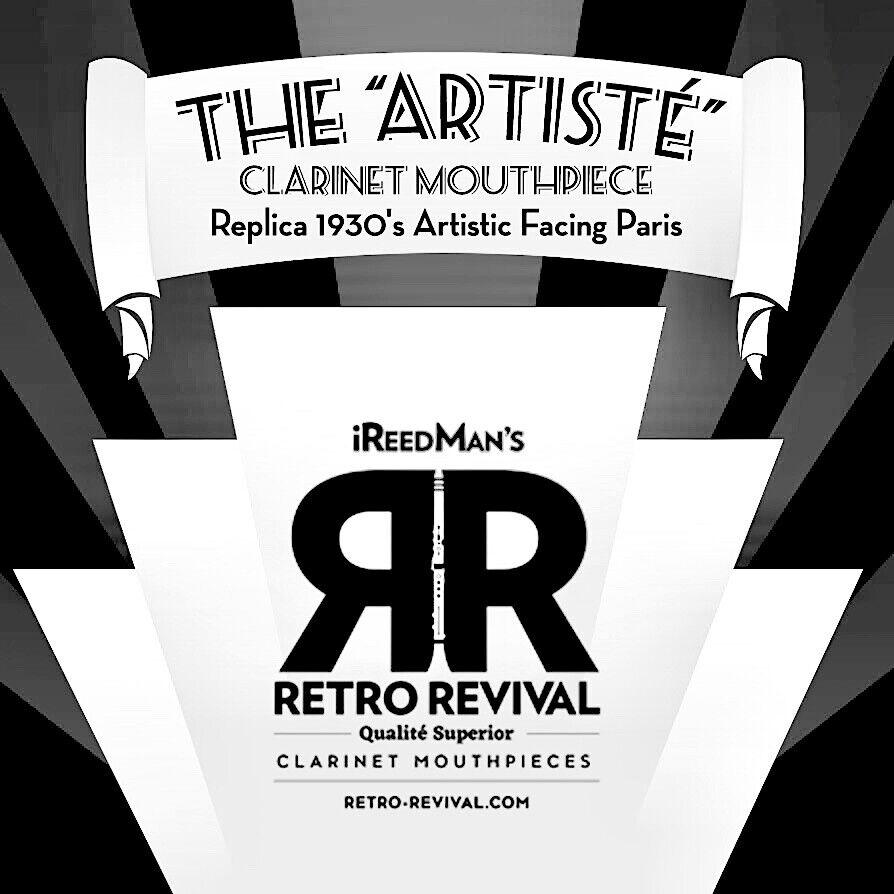 ARTISTE´  REPLICA 30's PARIS ARTISTIC FACING Bb CLARINET MP HAROLD WRIGHT 101