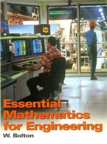Essentials of Mathematics for Engineering by Bolton, W. Paperback Book The Fast