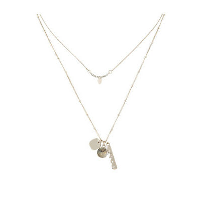 NEW Piper Tabitha Charms Fine Necklace Pack PIPJ0952 Natural
