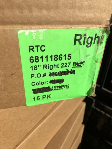 """15 RTC 681118615 18/"""" Profit Pusher Gen 3 T-Track Clear 112029004 Right Case 15"""
