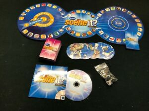 Disney-Scene-It-2nd-Edit-Game-Replacement-Parts-Pieces-Your-Choice